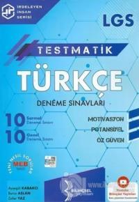 8. Sınıf LGS Testmatik Türkçe Deneme Sınavları