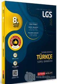 8. Sınıf Tamamı Çözümlü Türkçe Soru Bankası Kolektif