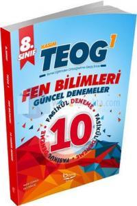 8. Sınıf TEOG 1 Fen Bilimleri 10'lu Güncel Denemeler