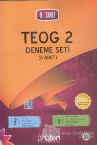 8. Sınıf TEOG 2 Deneme Seti (6 Adet) %10 indirimli Komisyon