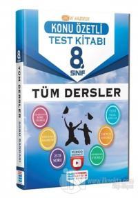 8. Sınıf Tüm Dersler Konu Özetli Video Çözümlü Test Kitabı Kolektif