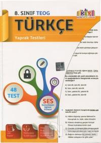 8. Sınıf Türkçe Yaprak Testleri