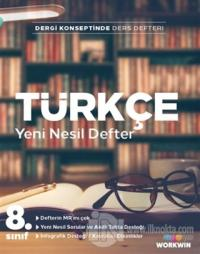 8. Sınıf Türkçe Yeni Nesil Defter
