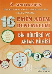 8. Sınıflar İçin 16 Emin Adım Din Kültürü ve Ahlak Bilgisi