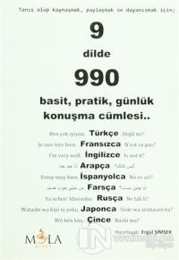 9 Dilde 990 Basit, Pratik, Günlük Konuşma Cümlesi