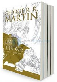 A Game of Thrones - Taht Oyunları Çizgi Roman Seti - 4 Kitap Takım
