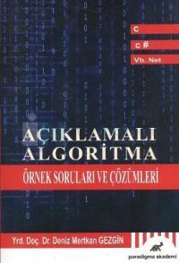 Açıklamalı Algoritma