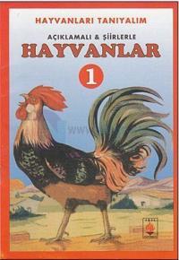 Açıklamalı ve Şiirlerle Hayvanlar - 5 Kitap Takım
