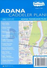 Adana Caddeler Planı