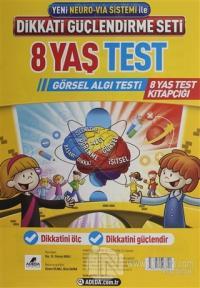 Adeda - DGS Dikkati Güçlendirme Seti 8 Yaş Test Görsel Algı Testi