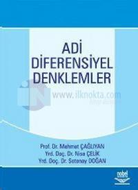 Adi Diferensiyel Denklemler