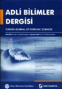 Adli Bilimler Dergisi - Cilt: 2 Sayı: 2 Haziran 2003