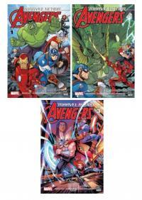 Marvel Action Avengers 3 Kitap Takım