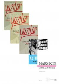 Louis Althusser 5 Kitap Takım Louis Althusser