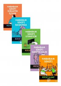 Hababam Serisi 5 Kitap Takım