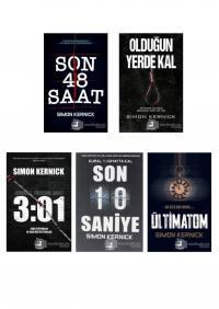 Simon Kernick 5 Kitap Takım
