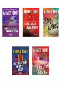 Ahmet Ümit 5 Kitap Takım