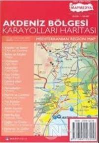 Akdeniz Bölgesi Karayolları Haritası