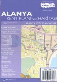 Alanya Kent Planı ve Haritası Alanya City Plan & Map