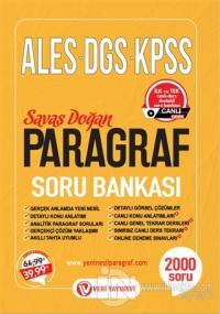 ALES DGS KPSS Paragraf Soru Bankası