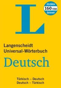 Langenscheidt Universal-Worterbuch Türkisch Türkisch-Deutsch / Deutsch