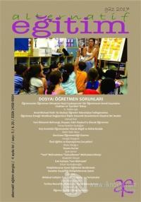 Alternatif Eğitim Dergisi Sayı: 5 Güz 2017