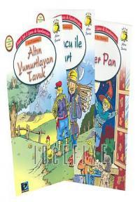 Altın Seri (5 Kitap) Kırmızı Başlıklı Kız / Peter Pan / Köy Faresi ile Kent Faresi / Altın Yumurtlayan Tavuk / Oduncu ile Kurt