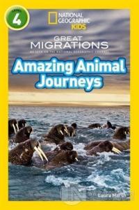 Amazing Animal Journeys (Readers 4) %18 indirimli Laura Marsh