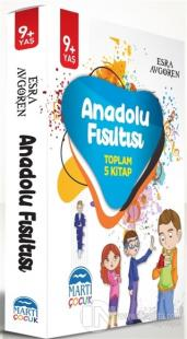 Anadolu Fısıtlısı (5 Kitap Takım) Esra Aygören