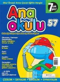 Anaokulu Sayı: 57 Anne-Çocuk Eğitim Dergisi