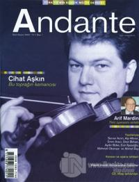Andante Müzik Dergisi Sayı: 1 Yıl: 1 Ekim-Kasım 2002
