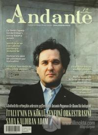 Andante Müzik Dergisi Sayı: 105 Yıl: 12 Temmuz 2015