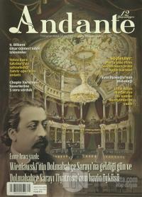 Andante Müzik Dergisi Sayı: 106 Yıl: 12 Ağustos 2015