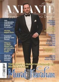 Andante Müzik Dergisi Sayı: 137 Yıl: 15 Mart 2018