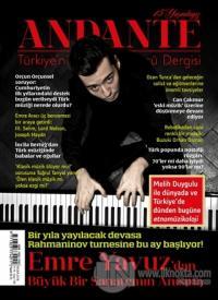 Andante Müzik Dergisi Sayı: 138 Yıl: 15 Nisan 2018