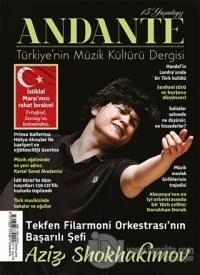 Andante Müzik Dergisi Sayı: 139 Yıl: 15 Mayıs 2018