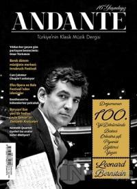 Andante Müzik Dergisi Sayı: 144 Yıl: 16 Ekim 2018