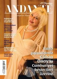Andante Müzik Dergisi Yıl: 16 Sayı: 145 Kasım 2018