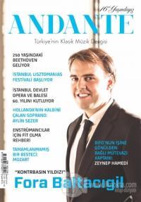Andante Müzik Dergisi Yıl: 16 Sayı: 149 Mart 2019