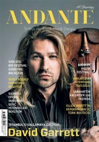 Andante Müzik Dergisi Yıl: 16 Sayı: 154 Ağustos 2019