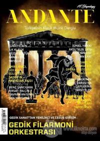 Andante Müzik Dergisi Yıl: 16 Sayı: 155 Eylül 2019