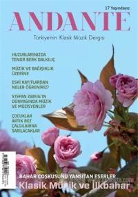 Andante Müzik Dergisi Yıl: 17 Sayı: 163 Mayıs 2020