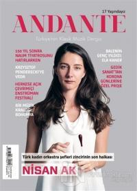 Andante Müzik Dergisi Yıl: 17 Sayı:164 Haziran 2020