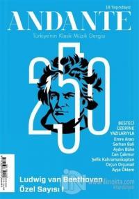 Andante Müzik Dergisi Yıl: 17 Sayı: 168 Ekim 2020