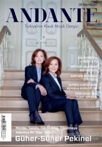 Andante Müzik Dergisi Yıl: 18 Sayı: 173 Mart 2021