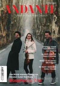Andante Müzik Dergisi Yıl: 18 Sayı: 174 Nisan 2021