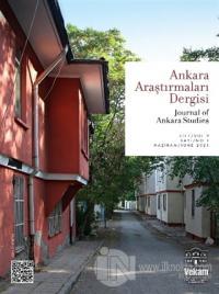 Ankara Araştırmaları Dergisi Cilt: 9 Sayı: 1 Kolektif