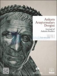 Ankara Araştırmaları Dergisi Sayı: 1 - Cilt1: Sayı:1 Kolektif