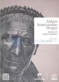 Ankara Araştırmaları Dergisi Sayı: 1