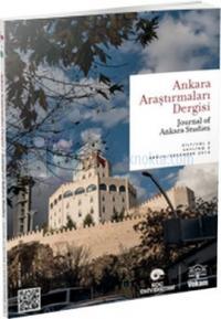 Ankara Araştırmaları Dergisi Sayı: 2 Kolektif